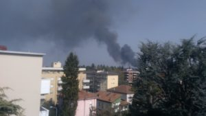 Incendio Gallarate