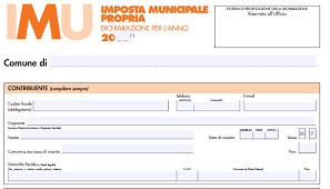 Dichiarazione IMU 2020